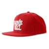 Ernie Ball EB-4155 Logo Hat Red