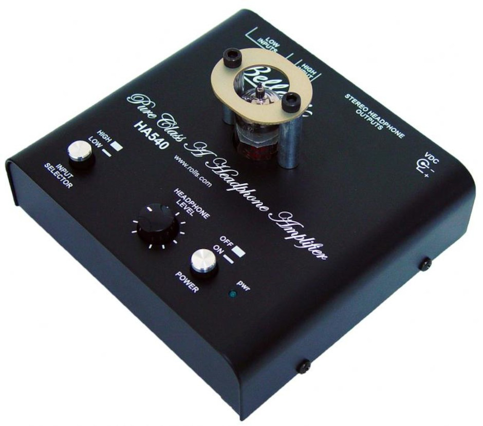Bellari HA540 tube headphone amplifier