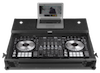 UDG Flight Case Pioneer DDJ-RZ/SZ/SZ2 Black MK2 Plus Laptop Shelf