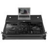 UDG Ultimate Flight Case Pioneer XDJ-RX2 Black MK3 Plus (Laptop shelf + Wh