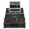 UDG Flight Case Pioneer DJM-2000/NXS Black MK2 Plus Laptop Shelf