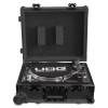 Flight Case Multi Format Turntable Black MK2 Plus Trolley