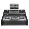 UDG Flight Case Roland DJ808 Black MK2 Plus Laptop Shelf