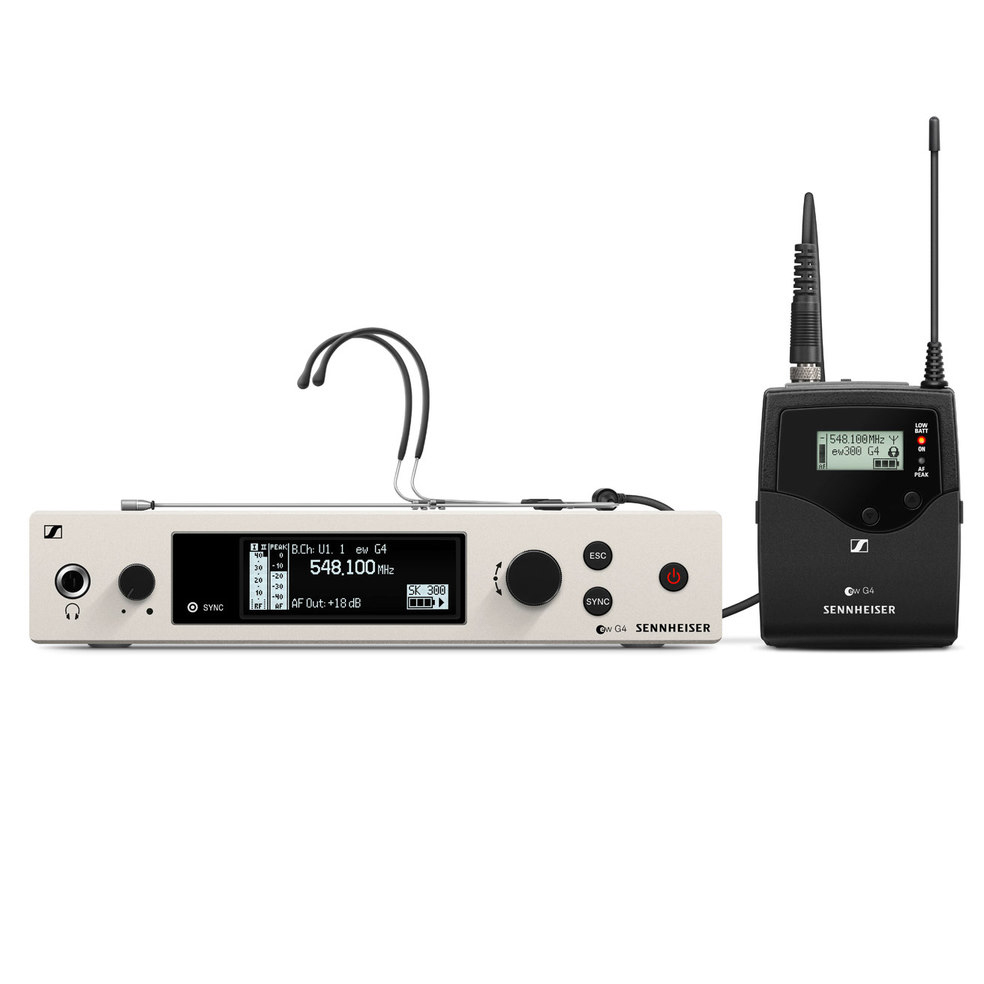 Sennheiser ew 300 G4-HEADMIC1-RC-BW