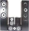 Lotronic HI-FI 5 SPEAKERS HOME CINEMA BLACK (2 packages)