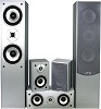 Lotronic HI-FI 5 SPEAKERS HOME CINEMA SILVER (2 packages)