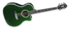 Hagström Siljan II Grand Auditorium-CE Special Edition Emerald Green