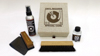 Simply Analog Vinyl Cleaning Boxset Dlx Ed. Brown Linen