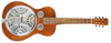 Dobro Hound Dog Deluxe Square Neck | VINTAGE BROWN