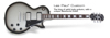 Epiphone LES PAUL CUSTOM PRO LTD ED | SILVER BURST (CF)
