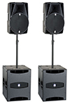 db Technologies Speaker Package 2x15 + 2 x 18 subs [2nd Hand]