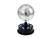 LED Mirror Ball 13cm with Base