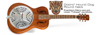 Epiphone Dobro Hound Dog Round Neck Vintage Brown CF