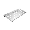 Pedalboard Large Silver