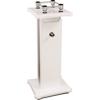 Isostand Aperta 200 Studio Monitor Stand (White Gloss)
