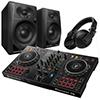 Pioneer DJ DDJ-400 + DM-40 + HDJ-X5 [Incl Free DDJ-400 Bag]
