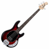Sterling by Music Man StingRay Ray4 Ruby Redburst Satin