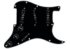 Pickguard ,Everything Axe Black w/Liberator
