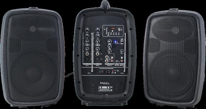 Ibiza Sound COMBO208-VHF