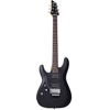 Schecter C-6 Deluxe Floyd Rose Satin Black Left Hand