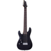 Schecter C-8 Deluxe Satin Black Left Hand