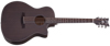 Orleans Studio Acoustic Satin See Thru Black