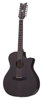 Schecter Orleans Studio Acoustic Satin See Thru Black 12 string