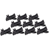 DPA 4-WAY CLIP FOR d:screet™ (SCM0013-Bx) (10-Pack, Black)
