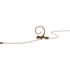 DPA 4166 Slim Omni Flex Earset Mic, 110 mm Boom, Brown, 3-pin LEMO