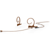 DPA 4166 Slim Omni Flex Headset Mic, 110 mm Boom, Brown, Mini-Jack