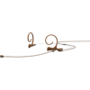 DPA 4166 Slim Omni Flex Headset, 110 mm , Brown, 3-pin LEMO