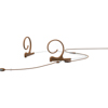 DPA 4166 Slim Omni Flex Headset, 90 mm , Brown, Shure Mini-XLR