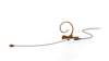 DPA 4266 Omni Flex Earset Mic, 110 mm Boom, Brown, 3-pin LEMO