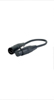 DAP Audio 1xXLR 5-pin Ma > 1xXLR 3-pin Fe 25cm