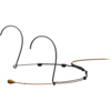 DPA CORE 4066 Omni Headset Mic, Brown, 3-pin LEMO