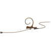 DPA CORE 4166 Slim Omni Flex Earset, 90 mm , Brown, MicroDot