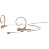 DPA CORE 4166 Slim Omni Flex Headset, 40 mm , Beige, MicroDot