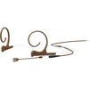 DPA CORE 4166 Slim Omni Flex Headset, 40 mm , Brown, MicroDot