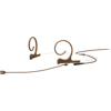 DPA CORE 4166 Slim Omni Flex Headset, 90 mm , Brown, MicroDot