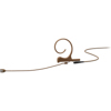 DPA CORE 4188 Slim Cardioid Flex Earset, 100 mm , Brown, MicroDot