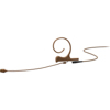 DPA CORE 4266 Omni Flex Earset Mic, 110 mm Boom, Brown, 3-pin LEMO