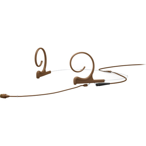 DPA CORE 4266 Omni Flex Headset Mic, 90 mm Boom, Brown, 3-pin LEMO