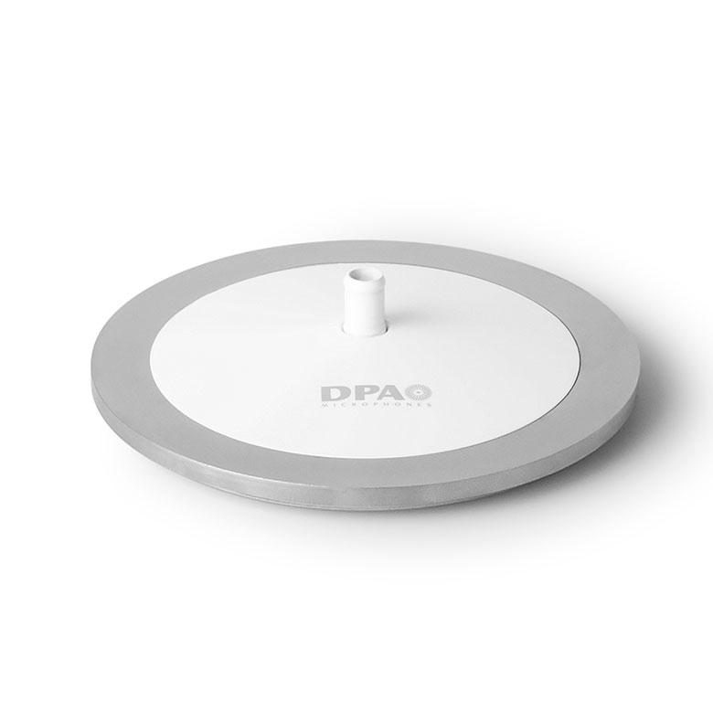 DPA Mic Base, White, MicroDot