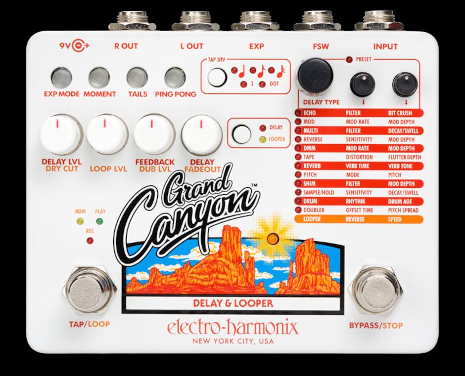 Electroharmonix Grand Canyon Delay & Looper