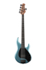 Music Man Stingray 5H Special, roasted maple neck, ebony fretboard, Aqua Blue