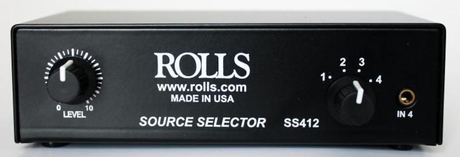 Rolls SS412 Source Selector
