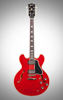 62 ES-335 Kalamazoo, Gloss 2019 Sixties Cherry, Lefthand