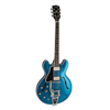 Gibson MOD Series 1961 ES-335, Bigsby 2019 Blue Sparkle, Lefthand