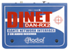 Radial Engineering Dinet DAN-RX 2-Channel Dante Network Receiver