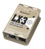 Radial Engineering LX3 Passive balanced line level splitter 1 in 3 out